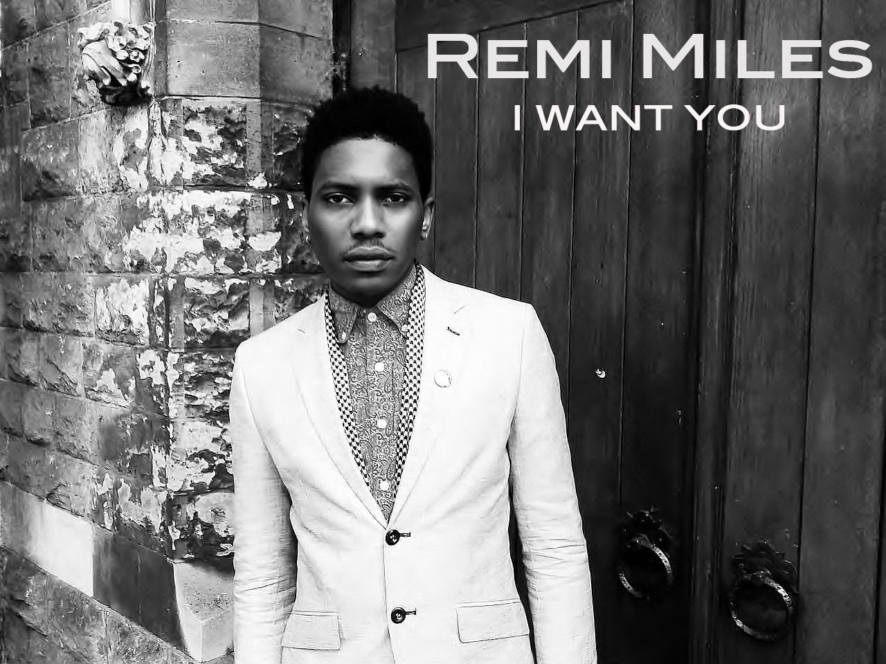 REMI MILES I want you cover
