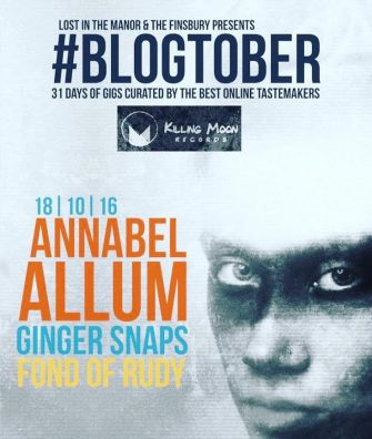 BLOGTOBER: KILLING MOON – ANNABEL ALLUM + GUESTS, 18TH OCTOBER