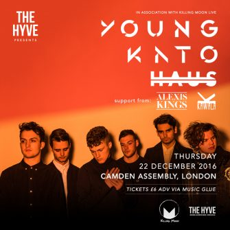 THE HYVE PRESENTS, 22ND DECEMBER, CAMDEN ASSEMBLY