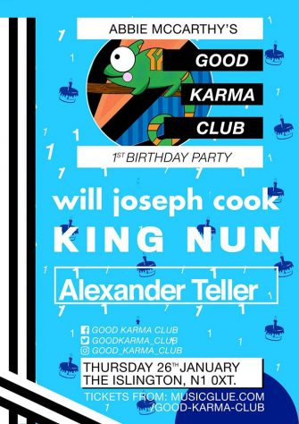 Good Karma Club's 1st Birthday Party, 25th January, The Islington