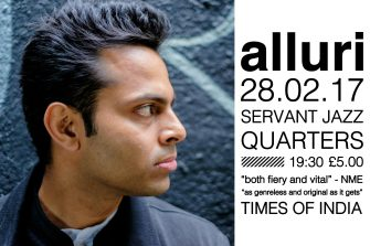 Alluri Single Launch Show, 28th February, Servant Jazz Quarters