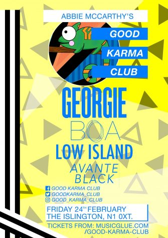 Good Karma Club, 24th February, The Islington