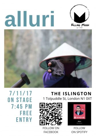 ALLURI SINGLE LAUNCH SHOW, 7th NOVEMBER, THE ISLINGTON