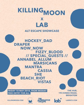 Killing Moon x Lab Alternative Escape, 18th May ,The Hub