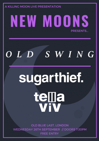 NEW MOONS PRESENTS OLD SWING // SEPTEMBER 26TH // OLD BLUE LAST