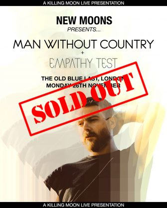 MAN WITHOUT COUNTRY ALBUM LAUNCH SHOW // OLD BLUE LAST // NOVEMBER 26TH
