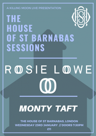 HOSB PRESENTS ROSIE LOWE, JANUARY 23RD