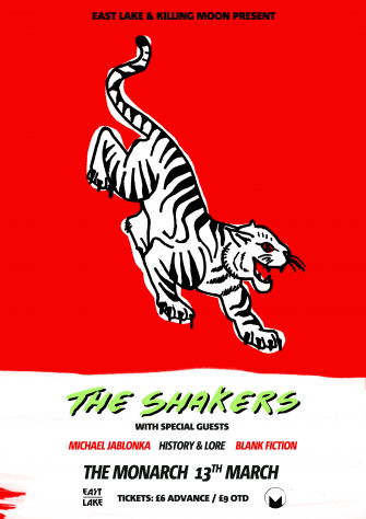 EAST LAKE X KILLING MOON PRESENTS, THE SHAKERS, THE MONARCH, MARCH 13TH