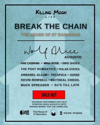Break The Chain Festival, September 28th, The House of St Barnabas