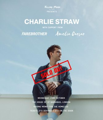 HOSB SESSIONS, Charlie Straw, The House of St Barnabas, October 23rd