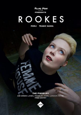 Rookes, The Finsbury, March 21st