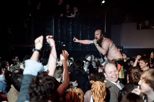 Live: Les Savy Fav/Pulled Apart By Horses/Young Legionnaire (NME Awards Show), Heaven, 22/2/11