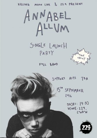 Annabel Allum 'Tricks' Launch Party, 229 The Venue, 15th September 2016