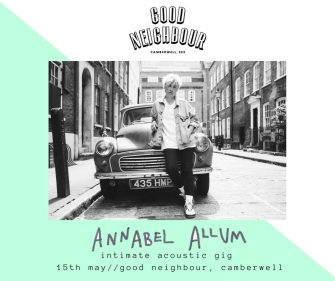 Annabel Allum At Good Neighbour, 15th May