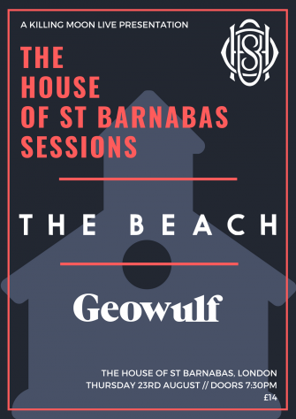 HOSB Sessions Presents The Beach, August 23RD