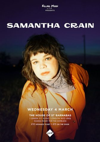 HOSB SESSIONS, SAMANTHA CRAIN, THE HOUSE OF ST BARNABAS MARCH 4TH