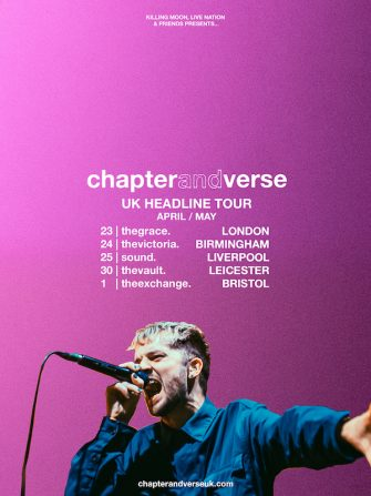 Chapter & Verse Headline Tour April 23 – May 1